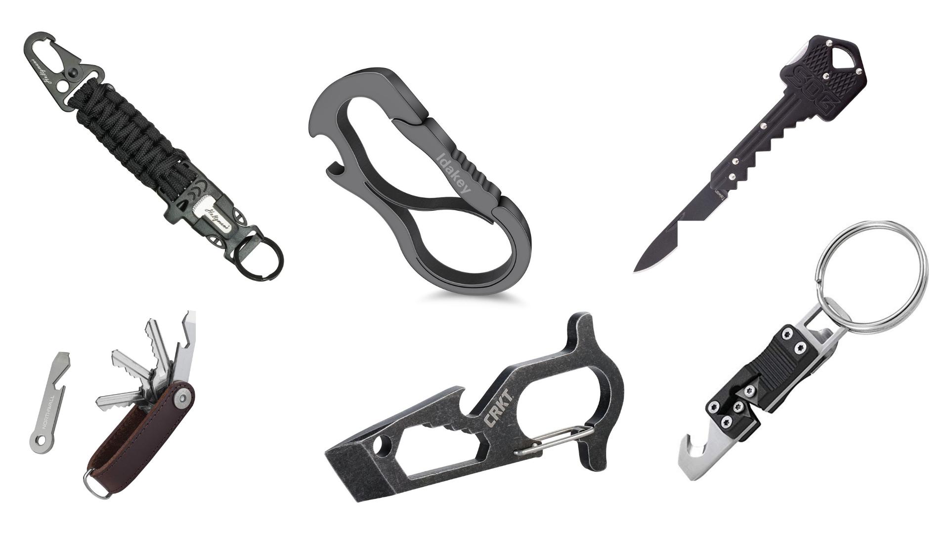 GearOrbit - EDC Smart Key Organizer Keychain
