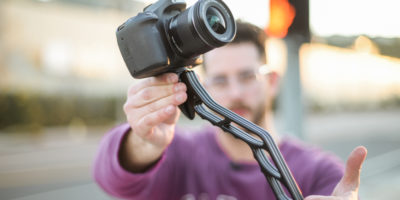 GearOrbit SwitchPod 4 g4t2dj 400x200 - SwitchPod handheld tripod - Better than GorillaPod Alternative