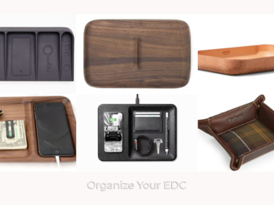 Valet Trays to Organize Your EDC by GearObit svk5uy 400x300 - 15 Valet Trays to Organize Your EDC: What's your choice?